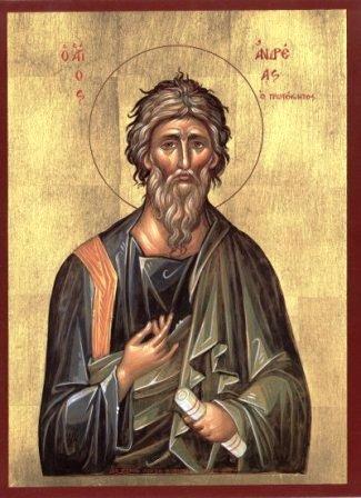 Βίος -  Ἅγιος Ἀνδρέας ὁ Ἀπόστολος ὁ Πρωτόκλητος 1130_Apostolos_Andreas(1)